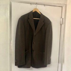 Valentino Suit 100% Virgin Wool Blazer 50R EUC